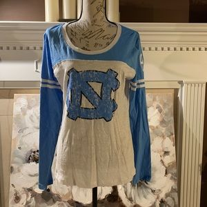 CAMPUS HERITAGE NC LONG SLEEVE TEE 100% Cotton